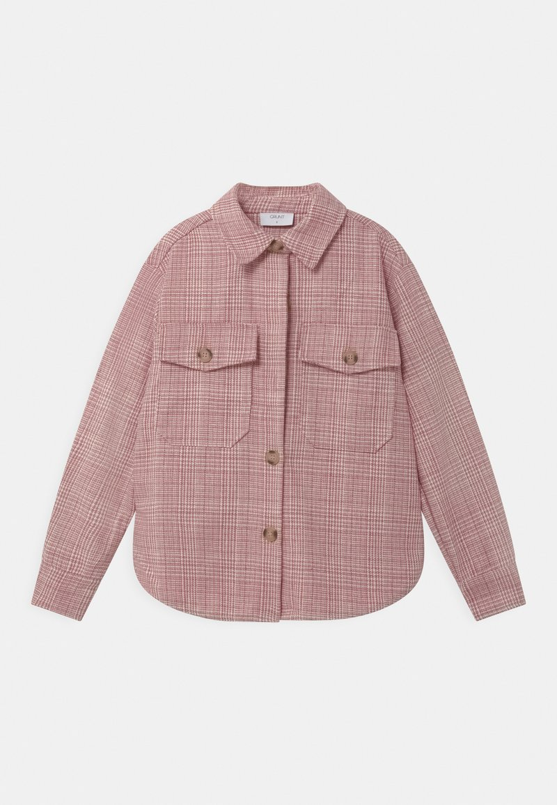 Grunt - PIA - Button-down blouse - pastel red