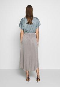 DRYKORN - RAHEL - A-line skirt - silver - 2