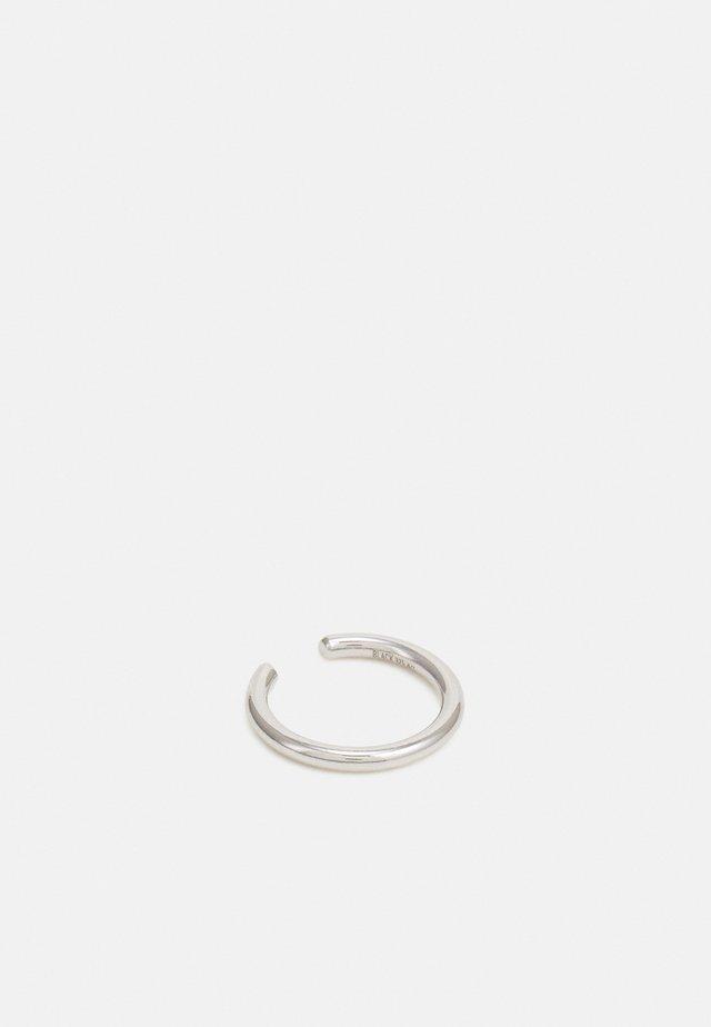 TWIN MINI EARCUFF - Ohrringe - silver-coloured