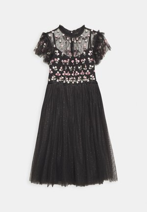 ROCOCO BODICE MIDI DRESS EXCLUSIVE - Cocktail dress / Party dress - graphite