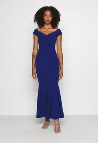 WAL G. - PLEATED HEM DRESS - Suknia balowa - electric blue - 0