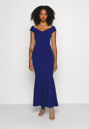 PLEATED HEM DRESS - Vestido de fiesta - electric blue