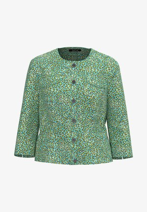 Summer jacket - animal print peppermint / light min