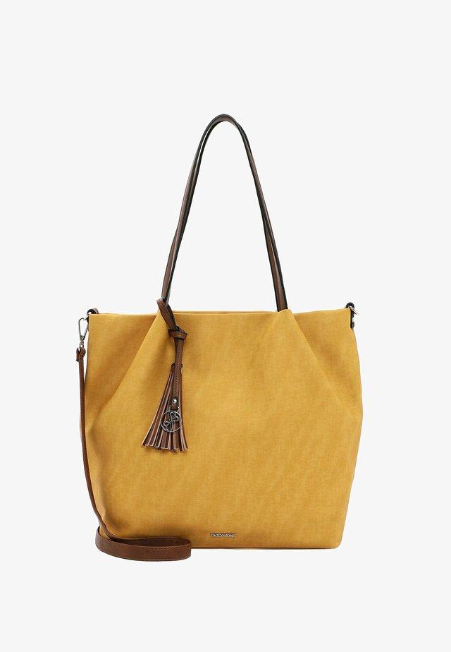 ELKE - Shopping bag - yellow