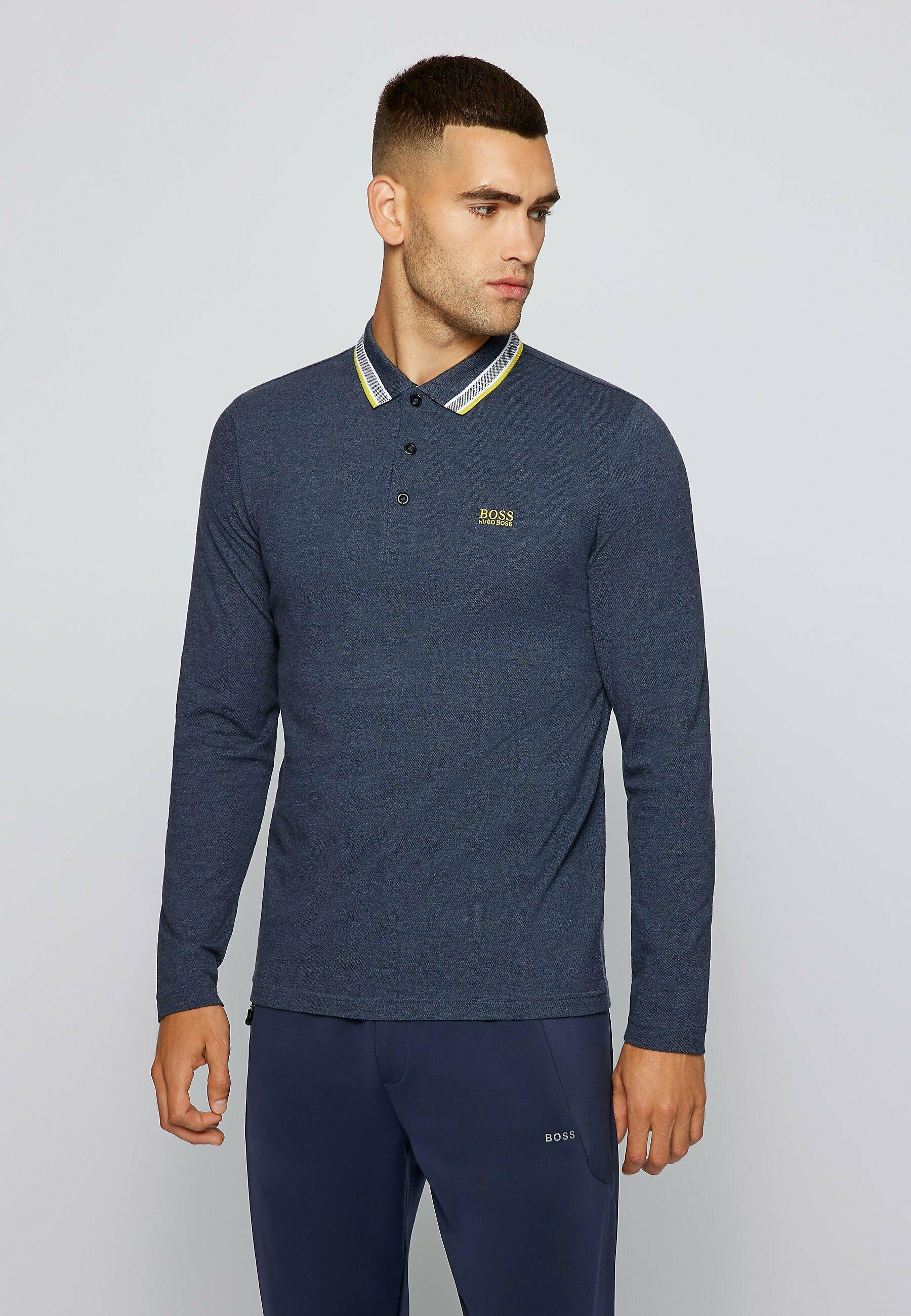 Men PLISY - Long sleeved top