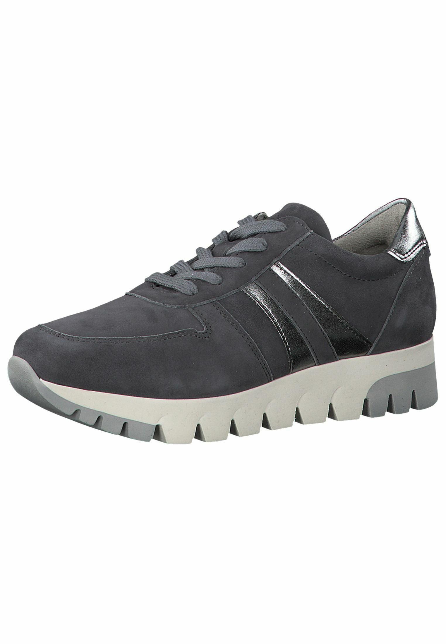 Tamaris LACE UP Sneaker low grey/pewter/grau