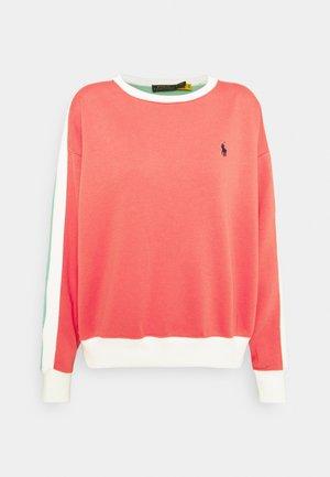LONG SLEEVE - Sweatshirt - amalfi red/tiki green