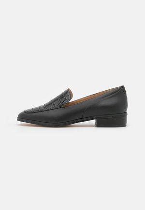 VEGAN ZALIX - Nazouvací boty - noir