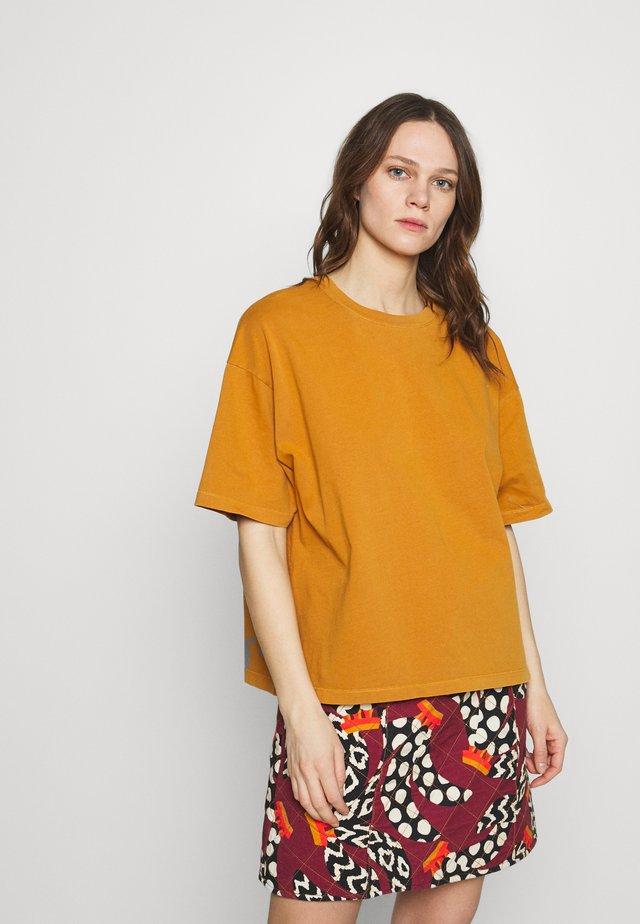 FIZVALLEY - T-shirt basic - ocre vintage