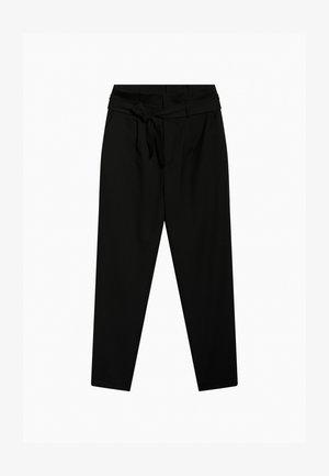 PAPERBAG - Trousers - schwarz
