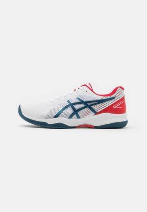 GEL GAME 8 - Multicourt tennis shoes - white/mako blue