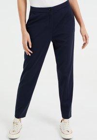 WE Fashion - Chinos - dark blue - 0