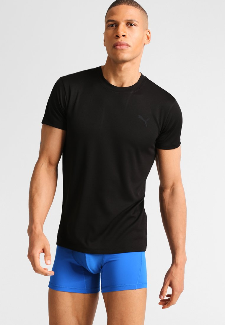 Herren Unterhemd/-shirt - black