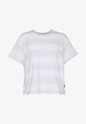 WOMEN'S STRIPE - Print T-shirt - tin grey