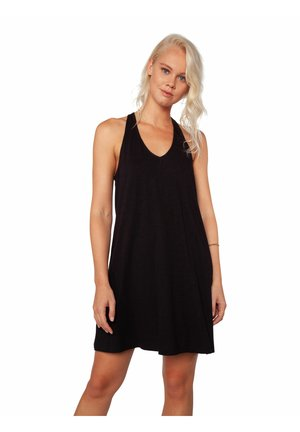 ATTENTION - Jersey dress - true black