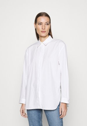 SHIRT - Button-down blouse - white light