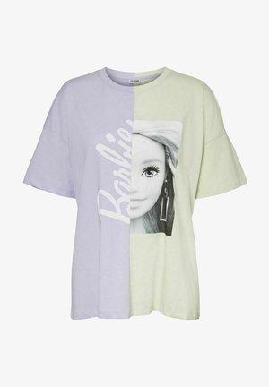 BARBIE - T-shirt con stampa - lavender fog