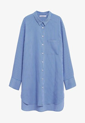 CELESTE - Button-down blouse - blau