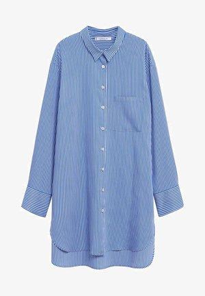 CELESTE - Button-down blouse - blau