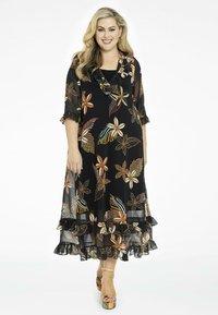 Yoek - Maxi dress - black - 0