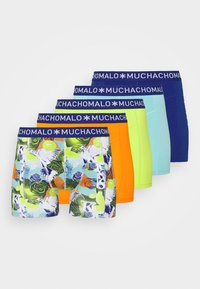 MUCHACHOMALO - LOVE 5 PACK - Boxerky - dark blue/orange/green - 5