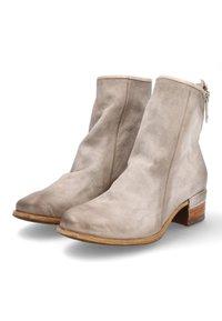 A.S.98 - Cowboy/biker ankle boot - grigio - 3