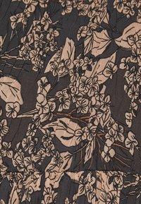 Lindex - DRESS KRINKLA - Maxi dress - offblack - 6