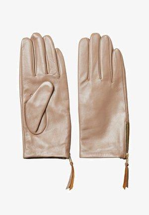Rękawiczki pięciopalcowe - tigers eye