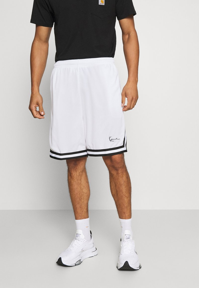 Karl Kani - SIGNATURE MESH SHORTS - Shorts - white