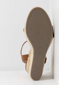 New Look - PERTH - Sandály na vysokém podpatku - tan - 6