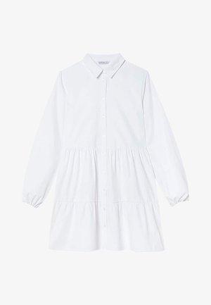 POPELIN - Shirt dress - white