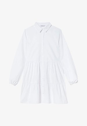 POPELIN - Sukienka koszulowa - white