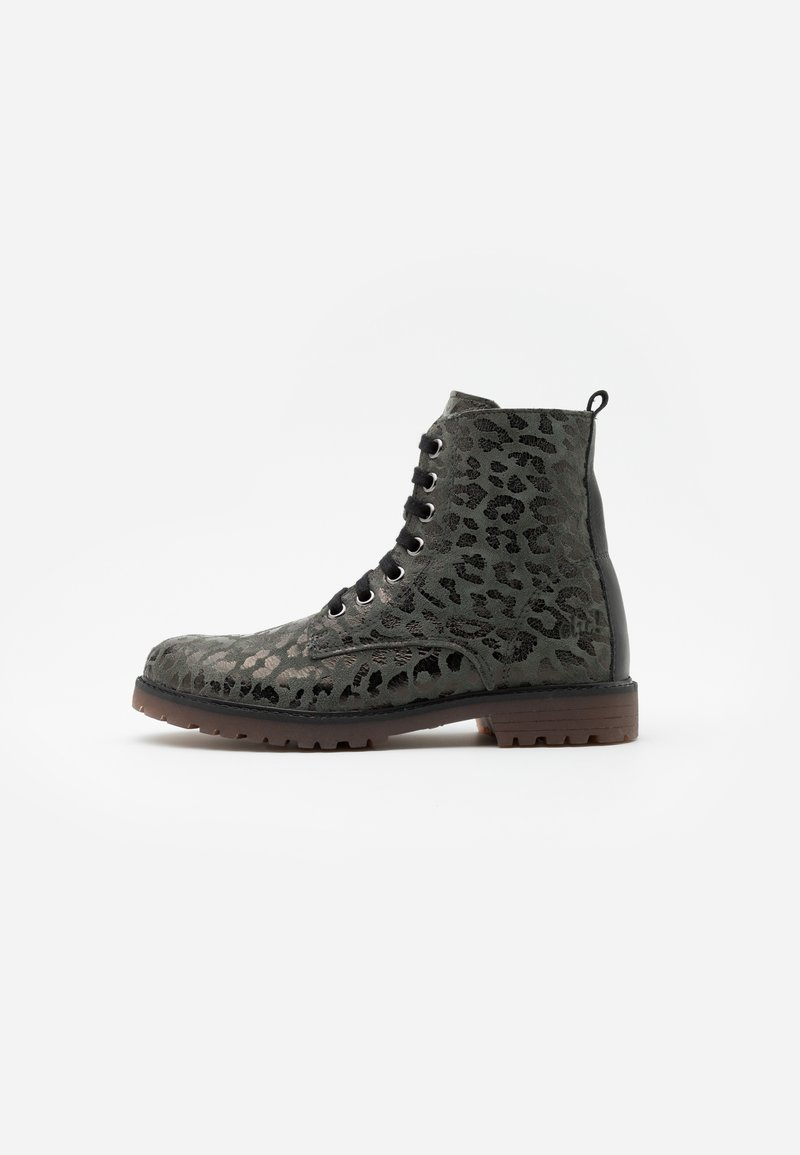 clic! - Lace-up ankle boots - montes grafito/agra