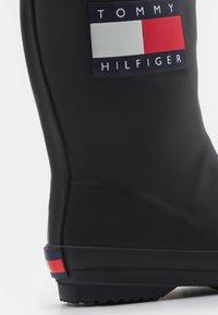 Tommy Hilfiger - UNISEX - Wellies - black - 5