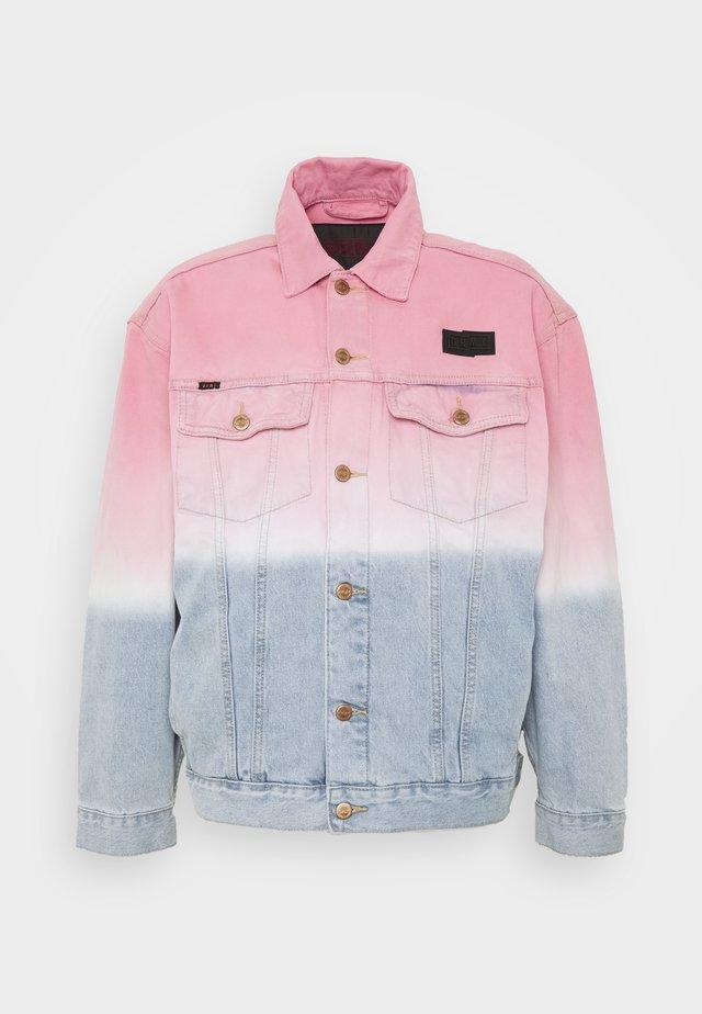 UNISEX  YANGA JACKET - Spijkerjas - pink