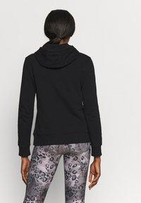 Calvin Klein Performance - HOODIE - Hoodie - black - 2