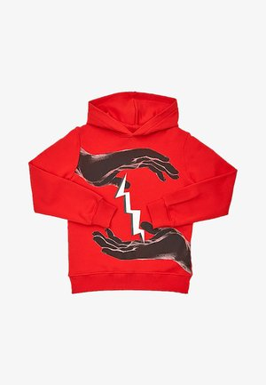 Hoodie - rosso