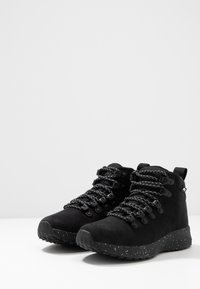 Native - APEX  - Lace-up ankle boots - jiffy black - 2