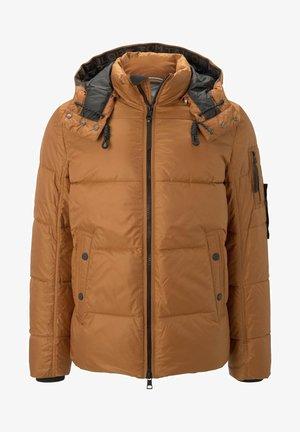 HEAVY PUFFER - Winter jacket - spicy pumpkin orange