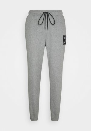 PIVOT - Tracksuit bottoms - medium gray heather