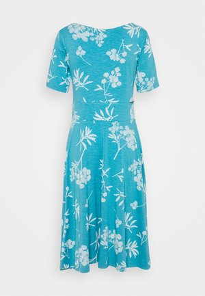 CHARLOTTE DRESS - Trikoomekko - rain blue/chalk