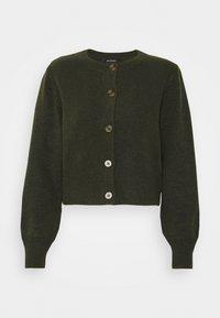 Monki - Cardigan - dark green - 4