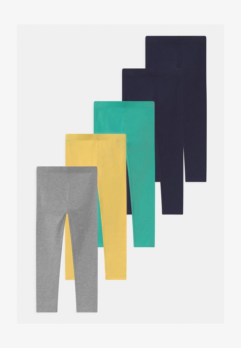 Friboo - 5 PACK - Leggings - Trousers - dark blue/turquoise