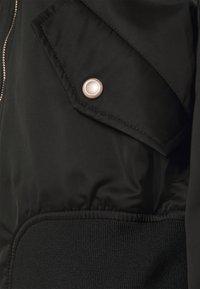 ONLY - SPRING  - Bomber Jacket - black/elmwood - 2