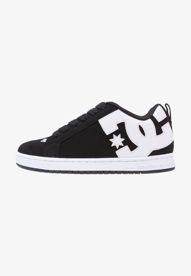 DC Shoes - COURT GRAFFIK - Skateboardové boty - black
