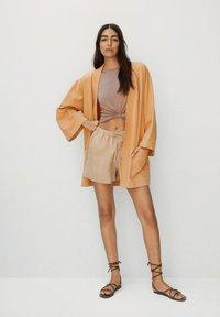 Mango - Short coat - pfirsich - 1