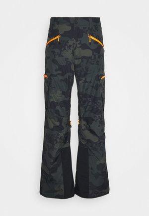 DAMIEN - Zimní kalhoty - dark green