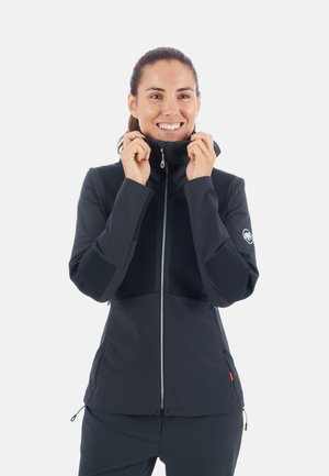 AENERGY PRO  - Kurtka Softshell - black