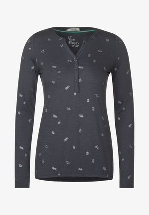 SYMBOLPRINT - Long sleeved top - grau