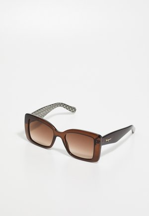 Sunglasses - crystal brown